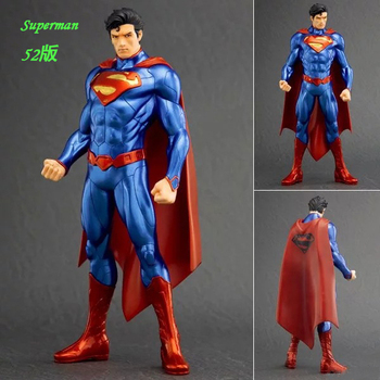 18 cm kotobukiya superman şekil yeni 52 justice league batman wonder woman dc comics marvel avengers pvc koleksiyon model oyuncak